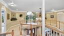 West Wing balcony. Palladian w/2 study nooks. - 1414 WYNHURST LN, VIENNA