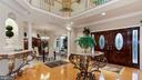 Foyer, Wide entry to banquet-sized Dining Room. - 1414 WYNHURST LN, VIENNA