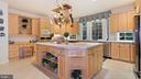 Kitchen-Counters? 24 ft,& 8x5 island, plus desk. - 1414 WYNHURST LN, VIENNA