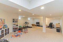 Basement Rec Room - 43829 RIVERPOINT DR, LEESBURG