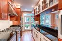 Stainless steel appliances and custom cabinets - 2706 CORTLAND PL NW, WASHINGTON