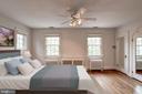 Sun-kissed Primary Bedroom - 2706 CORTLAND PL NW, WASHINGTON