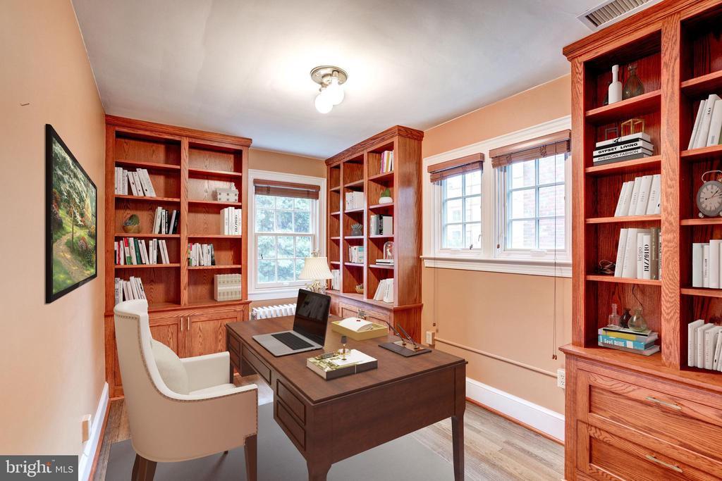 Bedroom 2 or Home Office - 2706 CORTLAND PL NW, WASHINGTON