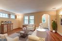 Windows on 3 sides provide plenty of light! - 2706 CORTLAND PL NW, WASHINGTON