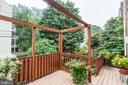 Relax on the deck overlooking the colorful garden! - 2706 CORTLAND PL NW, WASHINGTON