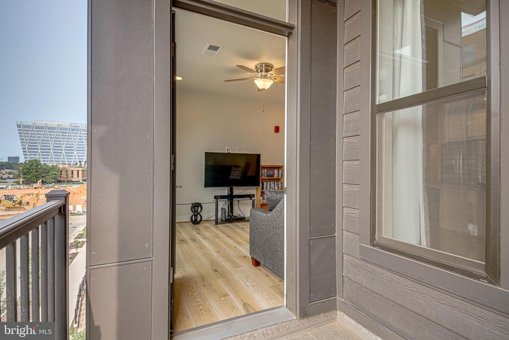 Access to private balcony - 11200 RESTON STATION BLVD #402, RESTON
