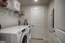 Side by side full size washer and dryer - 11200 RESTON STATION BLVD #402, RESTON