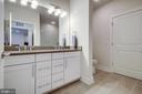 Dual Vanities - 11200 RESTON STATION BLVD #402, RESTON