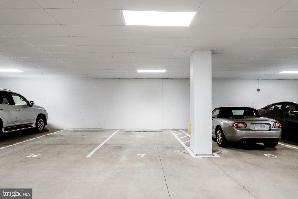 Assigned Garage Parking Space - 11200 RESTON STATION BLVD #402, RESTON