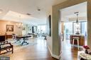 Living/Dining/Kitchen Areas - 1881 N NASH ST #1411, ARLINGTON