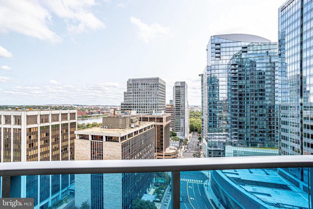 Balcony View - 1881 N NASH ST #1411, ARLINGTON