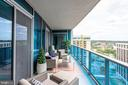 Extra Large Balcony With View Of Georgetown - 1881 N NASH ST #1411, ARLINGTON