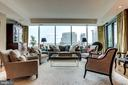 Living Area With Beautiful Views - 1881 N NASH ST #1411, ARLINGTON