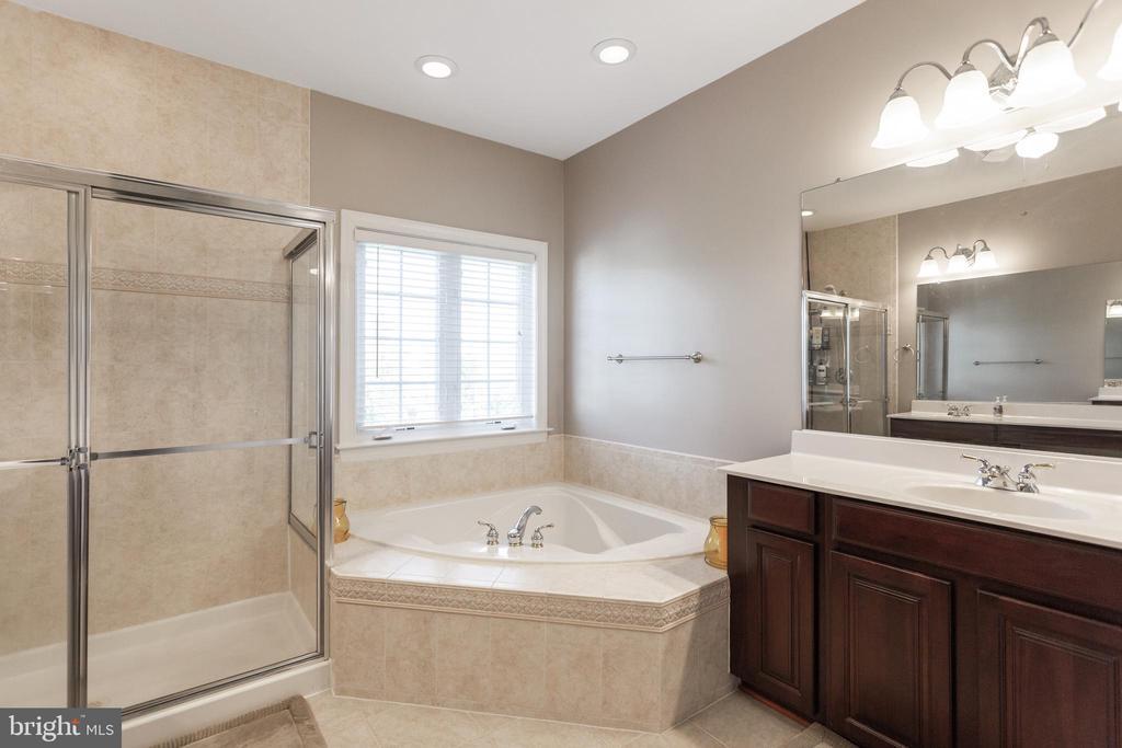 Owner's bathroom with soaking tub - 19198 SKINNER SQ, LEESBURG