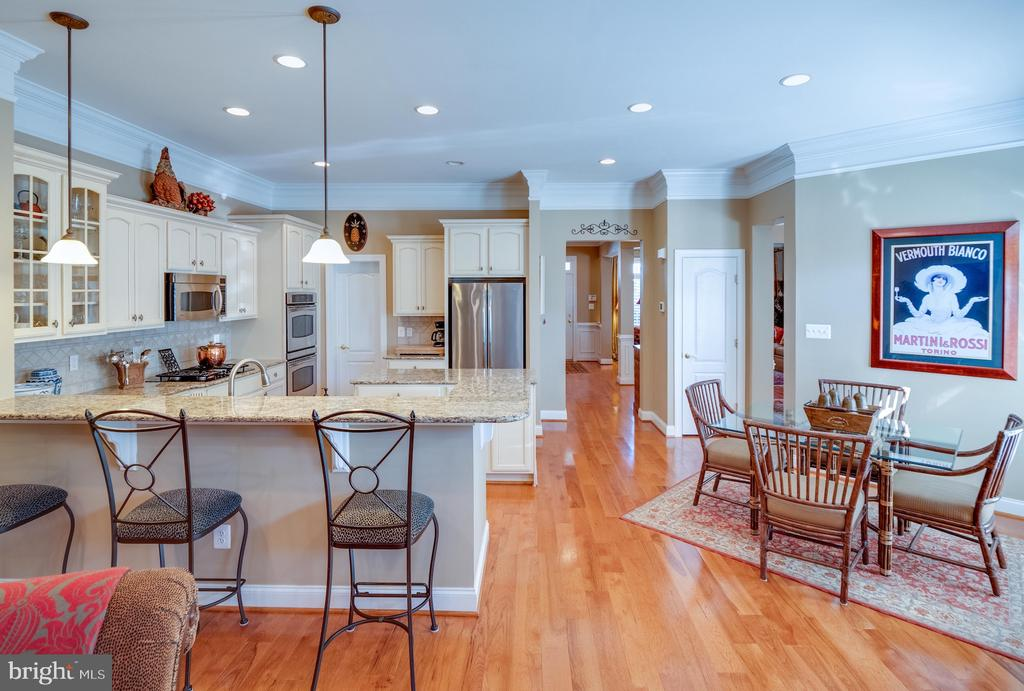 Perfect kitchen for entertaining - 18979 COREOPSIS TER, LEESBURG