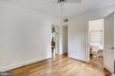 Bedroom #3 with full bath - 2922 24TH ST N, ARLINGTON