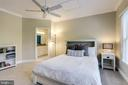 All  bedrooms have ceiling fans - 2124 POLO POINTE DR, VIENNA