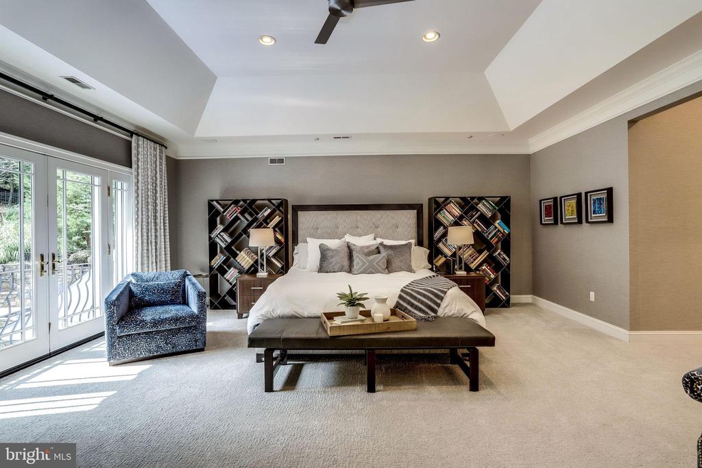 Expansive owner's suie - 2124 POLO POINTE DR, VIENNA