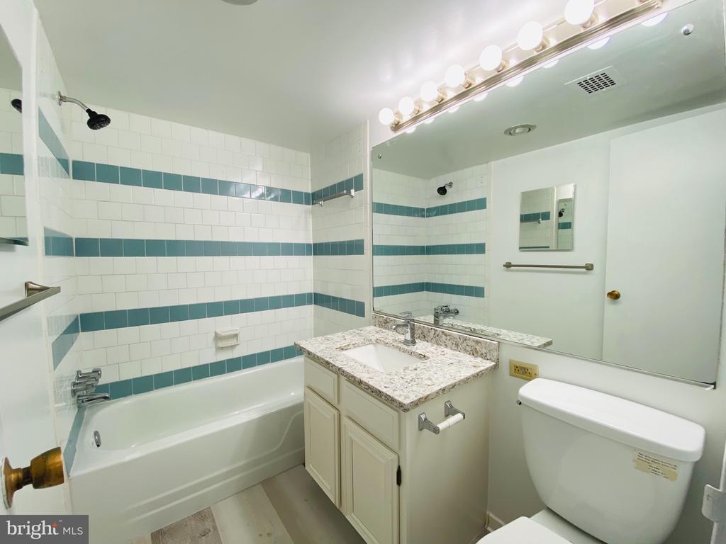 Bathroom just remodeled - 501 SLATERS LN #906, ALEXANDRIA