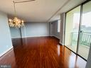 View from Dinning Room - 501 SLATERS LN #906, ALEXANDRIA