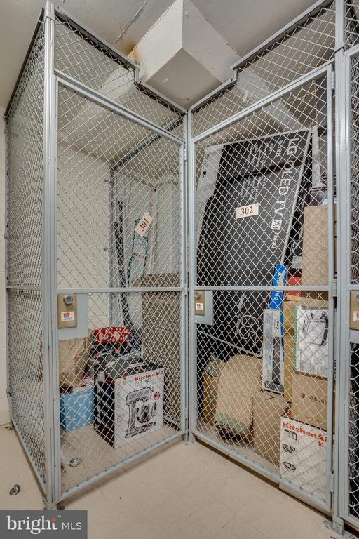 Deeded Large Storage #302 - 888 N QUINCY ST #512, ARLINGTON