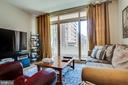 Living Room Doors to Balcony - 888 N QUINCY ST #512, ARLINGTON