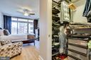 Walk-In Closet with Built-In's - 888 N QUINCY ST #512, ARLINGTON