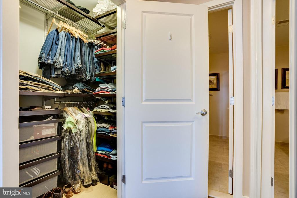 Bult-In's in Both Master B.R. Closets - 888 N QUINCY ST #512, ARLINGTON