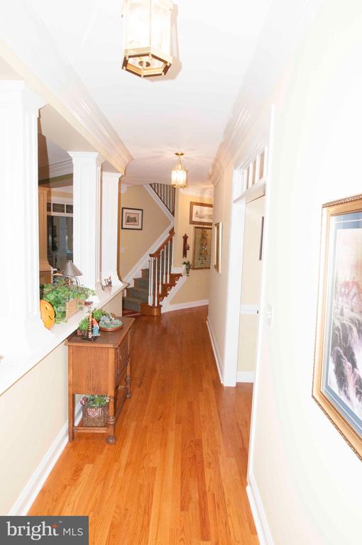 Hallway - Main Level - 11918 SANDY HILL CT, SPOTSYLVANIA