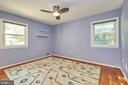 Hardwood Floor and Lighted Ceiling Fan - 105 PATRICK ST SW, VIENNA