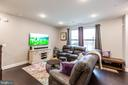 Living Room with HDMI Outlet! - 10473 RATCLIFFE TRL, MANASSAS