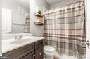 Hall Bath with Upgraded Tile and Cabinets! - 10473 RATCLIFFE TRL, MANASSAS