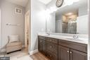 Upgraded Primary Bathroom  with Frameless Shower! - 10473 RATCLIFFE TRL, MANASSAS