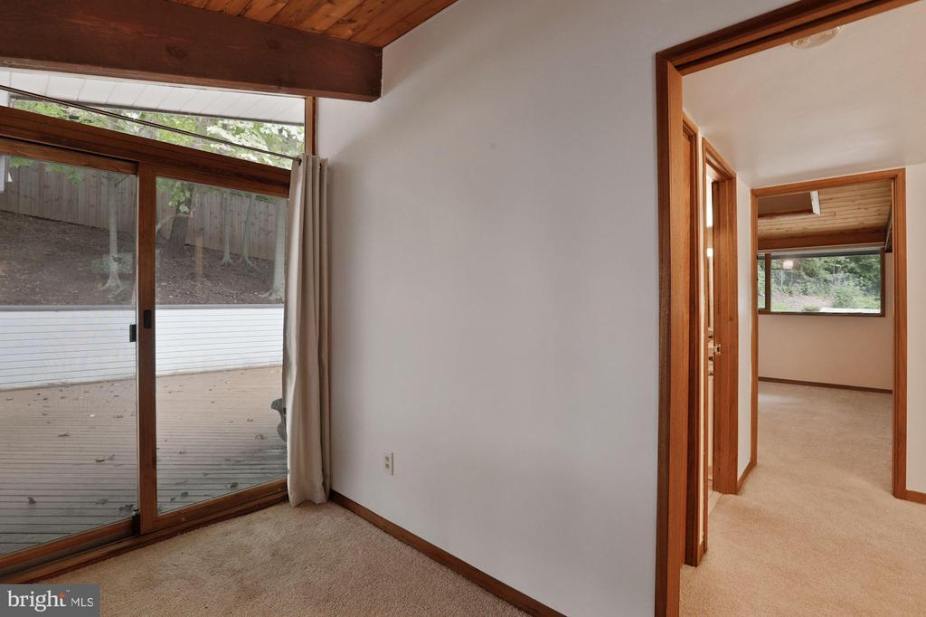 Loft Leads Out to Upper Level Wrap-Around Decks! - 6411 RECREATION LN, FALLS CHURCH