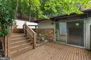 Oh Look!  Another Gorgeous Deck to Entertain On! - 6411 RECREATION LN, FALLS CHURCH