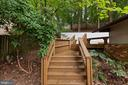 Pathway from One Deck to Another Deck! - 6411 RECREATION LN, FALLS CHURCH