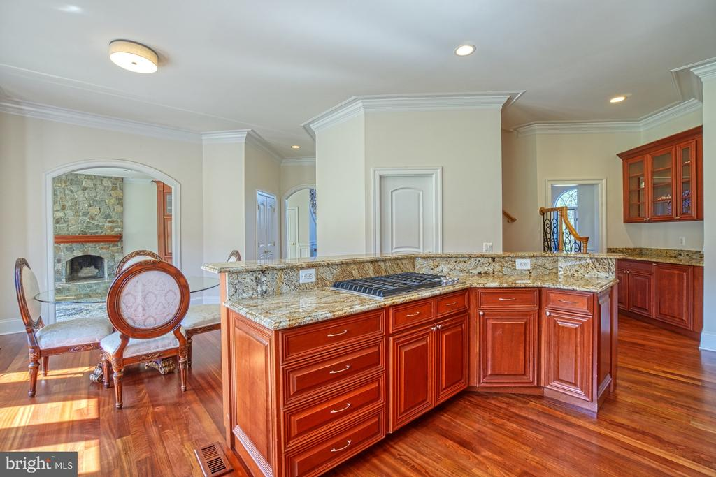 Opens to Family Room - 40163 BEACON HILL DR, LEESBURG