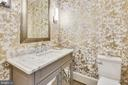 One of Two Half Baths on the Main Level - 40850 ROBIN CIR, LEESBURG