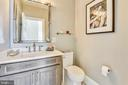 Two of Two Half Baths on the Main Level - 40850 ROBIN CIR, LEESBURG