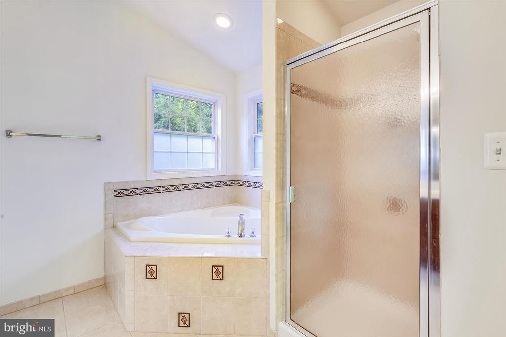 Oversized soaking tub and a stand up shower - 15901 EDGEWOOD DR, DUMFRIES