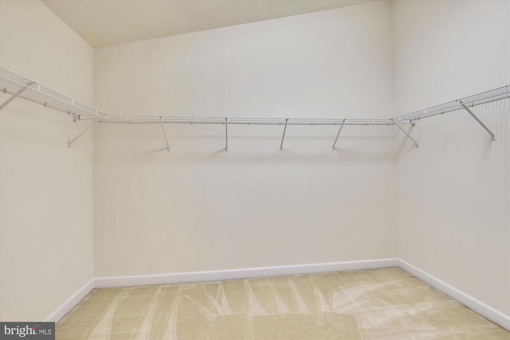 MASSIVE walk in closet off the bathroom - 15901 EDGEWOOD DR, DUMFRIES