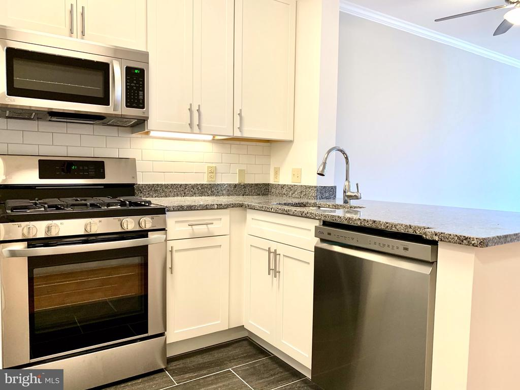 SS LG Appliance, New Cabinets, New Tile Floor - 1625 INTERNATIONAL DR #412, MCLEAN