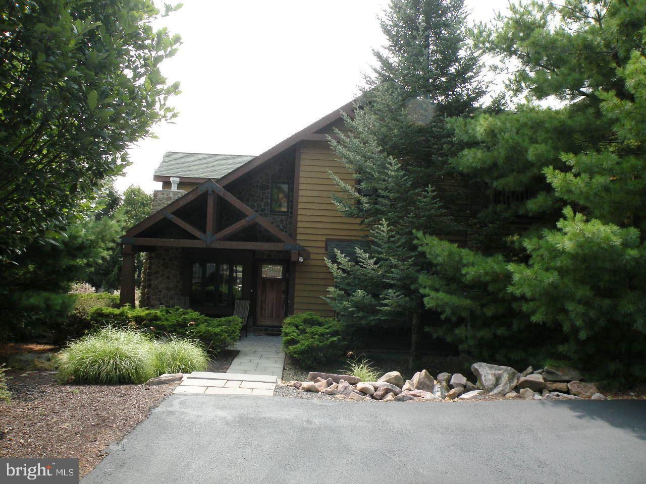 Single Family Homes 용 매매 에 Lake Harmony, 펜실바니아 18624 미국