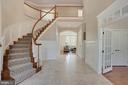 Front Foyer with Custom Millwork - 44220 RIVERPOINT DR, LEESBURG
