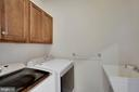 Upper Level Laundry Room - 44220 RIVERPOINT DR, LEESBURG