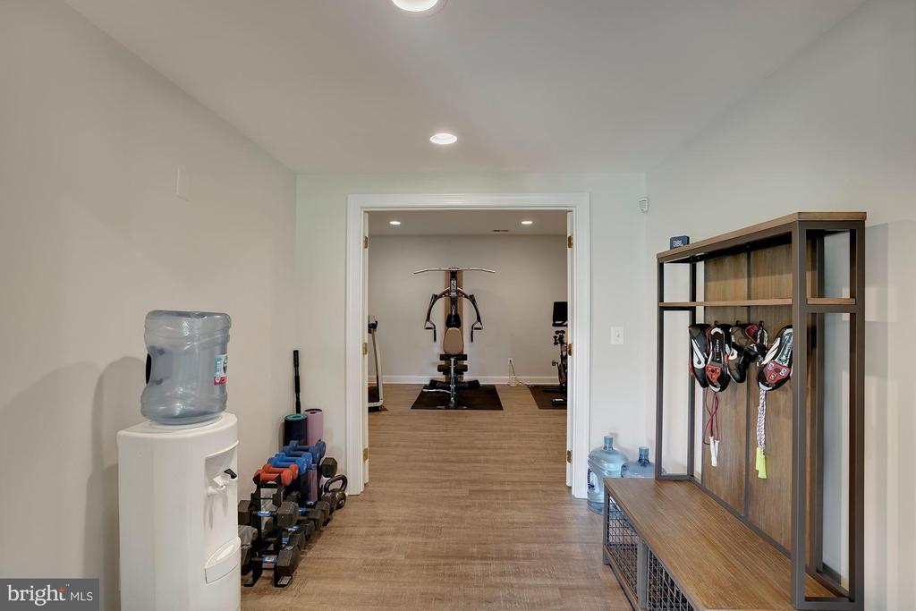Lower Level Gym Area - 44220 RIVERPOINT DR, LEESBURG
