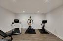Lower Level Gym Room - 44220 RIVERPOINT DR, LEESBURG