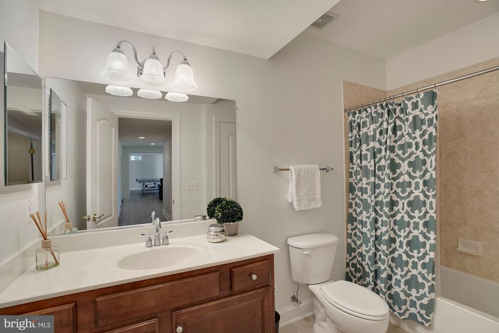 Lower Level 6th Full Bathroom - 44220 RIVERPOINT DR, LEESBURG