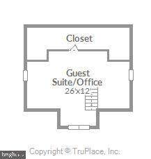 4th floor suite/loft with cedar, walk-in closet - 39860 LOVETTSVILLE RD, LOVETTSVILLE