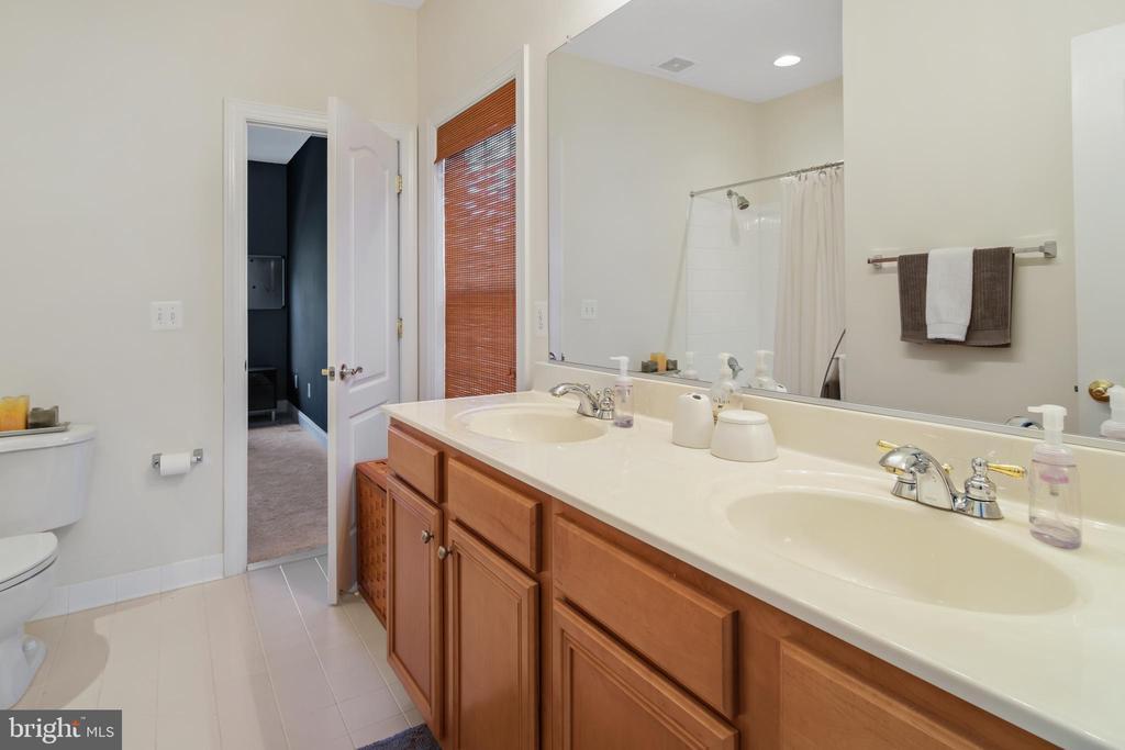 Jack & Jill Bathroom - 43945 RIVERPOINT DR, LEESBURG